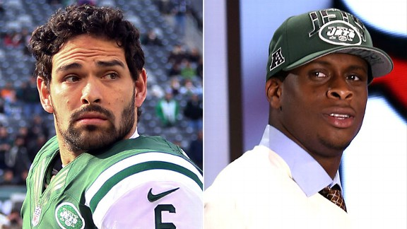 Mark Sanchez and Geno Smith