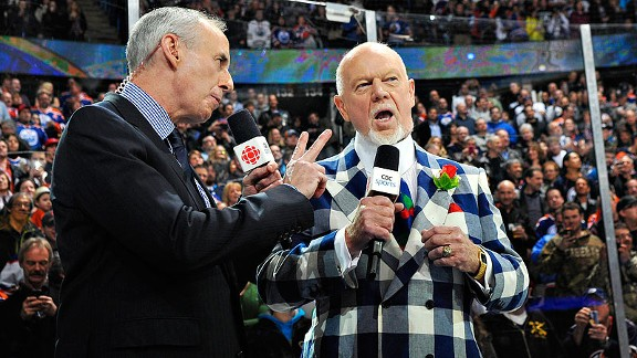 An Open Letter To Hockey Analyst Don Cherry