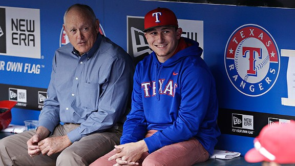 Nolan Ryan and Johnny Manziel