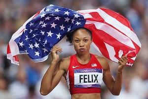 Allyson Felix will return to action for the Diamond League season opener