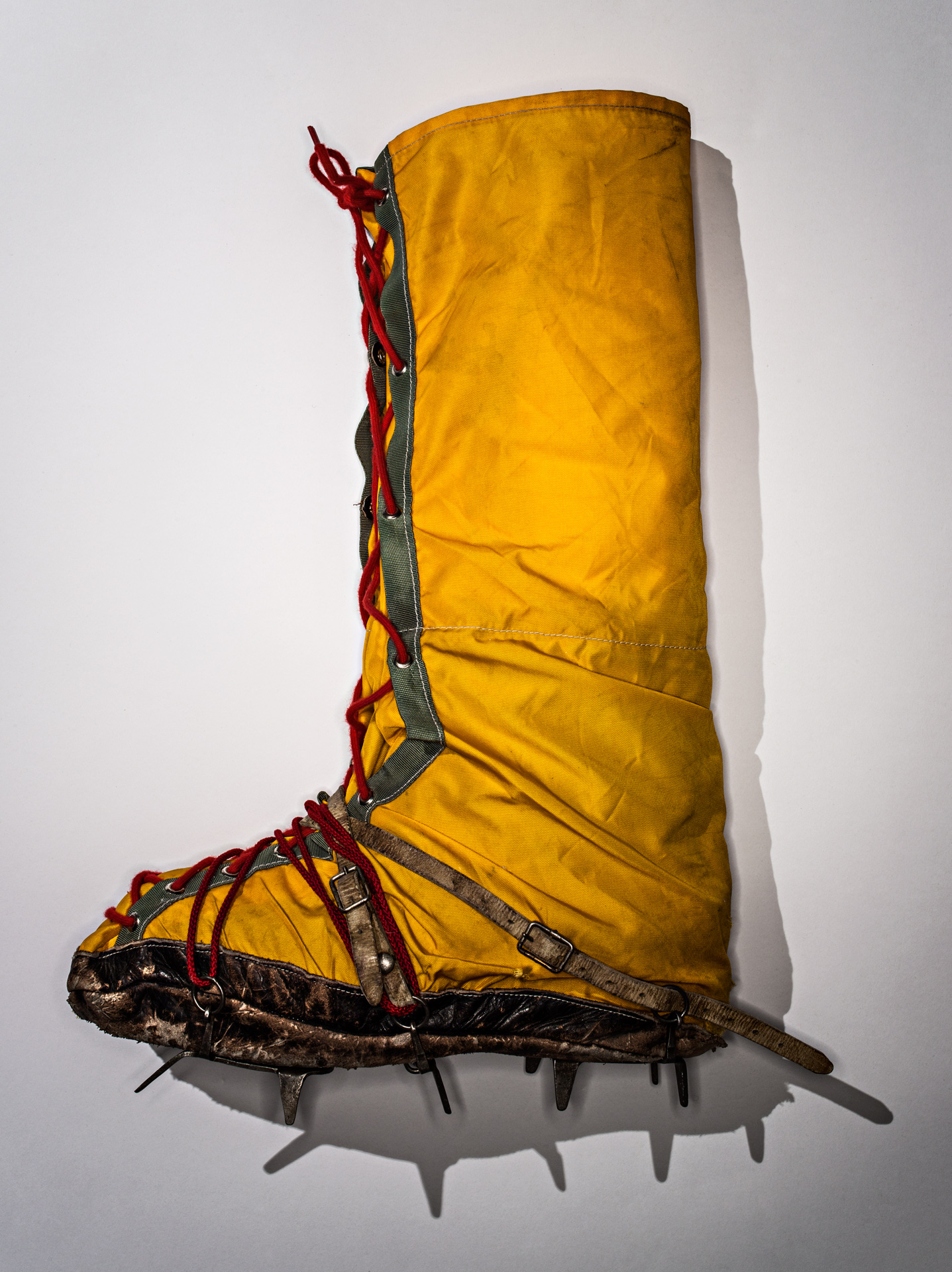 Overboots with crampons