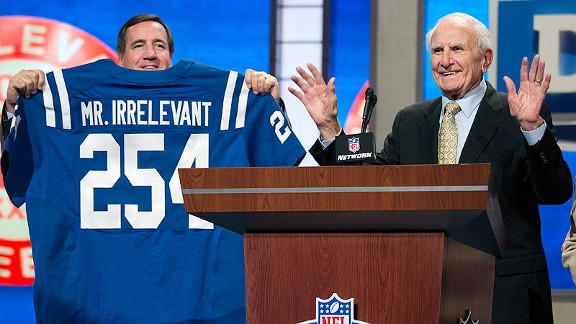Paul Salata, the creator of the NFL Draft's Mr. Irrelevant and Irrelevant Week