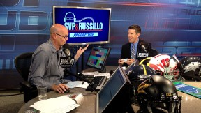 Carl Edwards in the studio