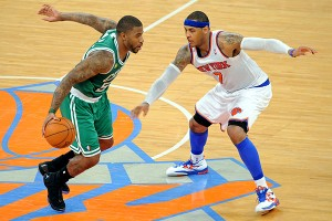 Terrence Williams, Carmelo Anthony