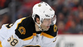 Jaromir Jagr #68 of the Boston Bruins