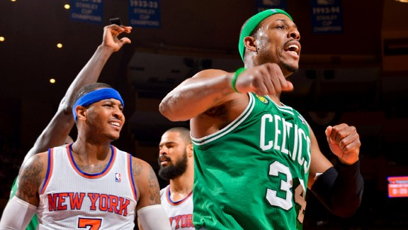 Paul Pierce, Carmelo Anthony