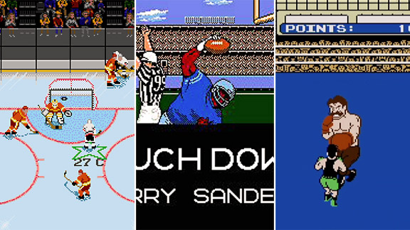 NHL 94, Tecmo Bowl, Mike Tyson PunchOut