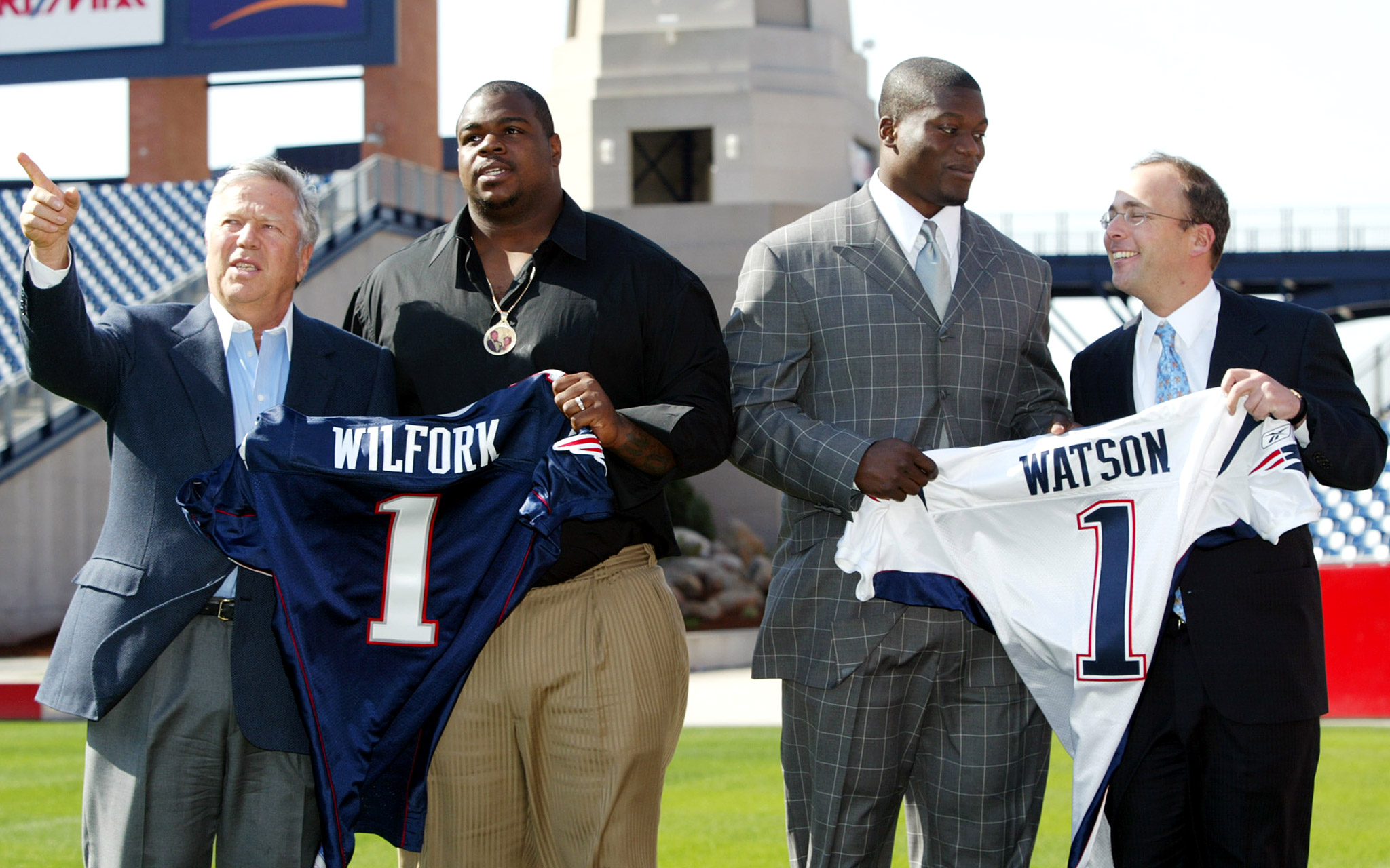 2004: Patience rewarded with Wilfork & Watson
