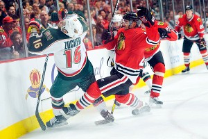 Jason Zucker, Johnny Oduya