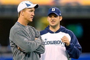 Tony Romo, Peyton Manning