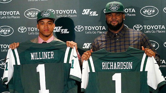 Dee Millner and Sheldon Richardson