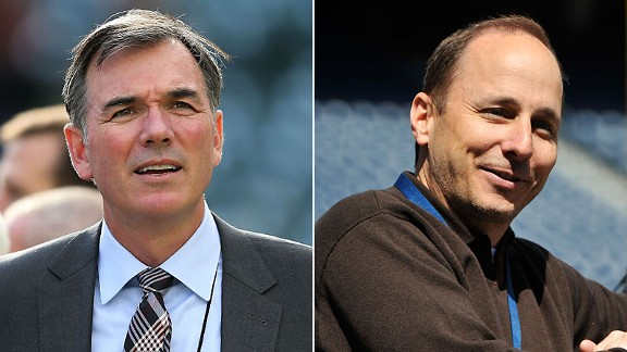 Billy Beane and Brian Cashman
