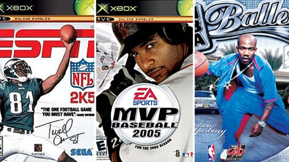 NFL 2K, MVP Baseball and NBA Ballers