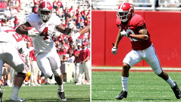 TJ Yeldon, Deion Belue