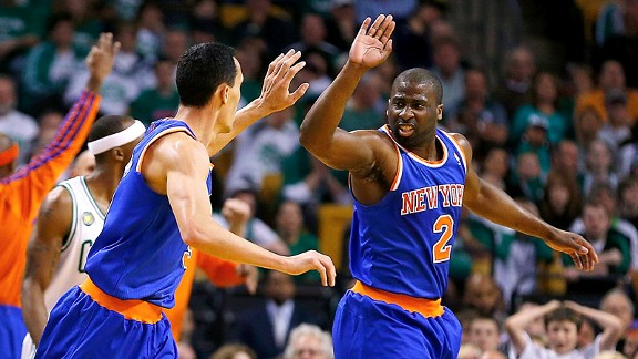 Pablo Prigioni, Raymond Felton