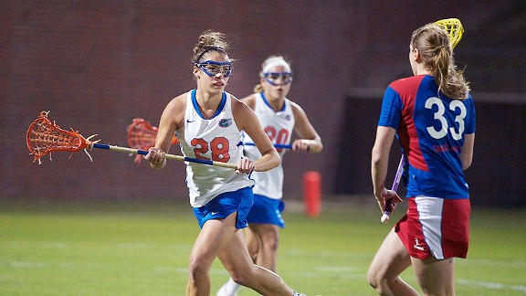 The Gators' Krista Grabher gives young Floridians a goal to shoot for as the only Florida native suiting up for Florida.