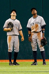 Brett Gardner and Curtis Granderson