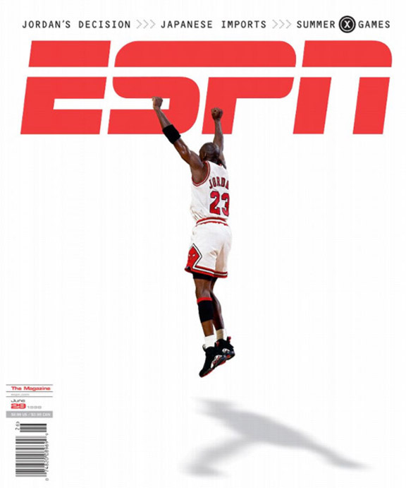 Michael Jordan ESPN the Magazine cover