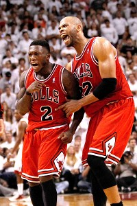 Nate Robinson and Taj Gibson
