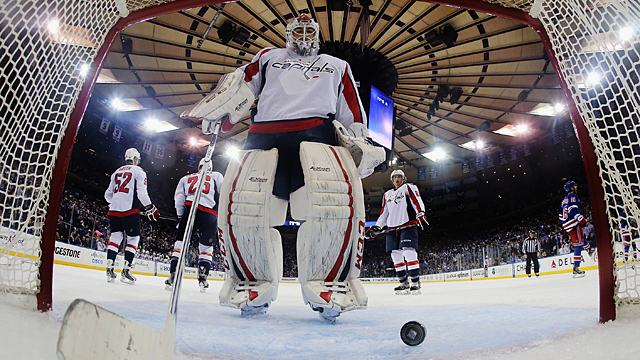 Braden Holtby #70 of the Washington Capitals