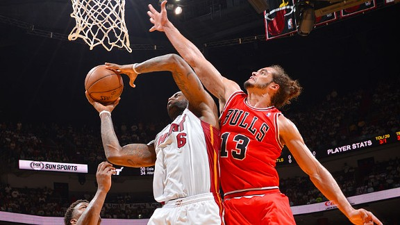 LeBron James, Joakim Noah