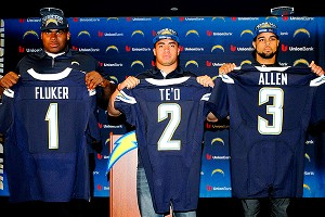 San Diego's D.J. Fluker, Manti Te'o and Keenan Allen