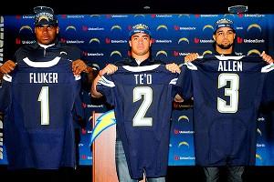 San Diego's D.J. Fluker, Manti Te'o and Keenan Allen