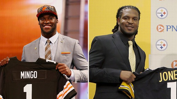 Barkevious Mingo and Jarvis Jones