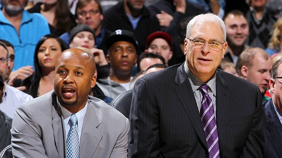 Brian Shaw and Phil Jackson