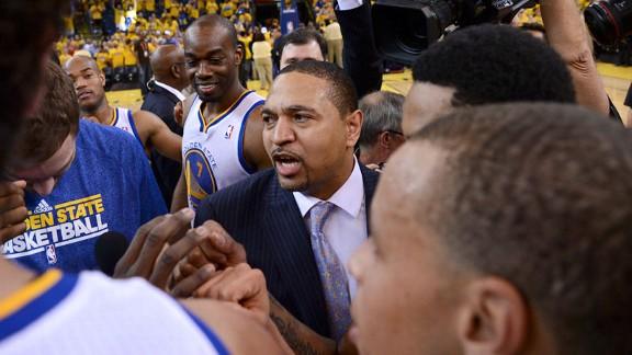 2013 NBA playoffs: Golden State Warriors coach Mark Jackson has…