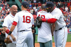 David Ortiz, Will Middlebrooks, Matt Paterson, Steven Byrne