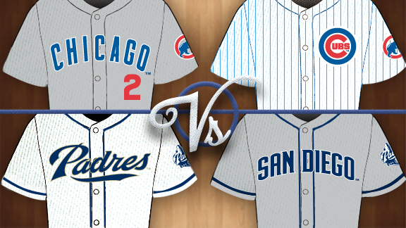 Battle of the Uniforms, Round 1 CHC-SD