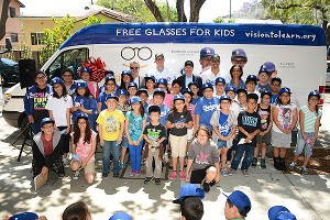 Dodgers free Glasses For Kids