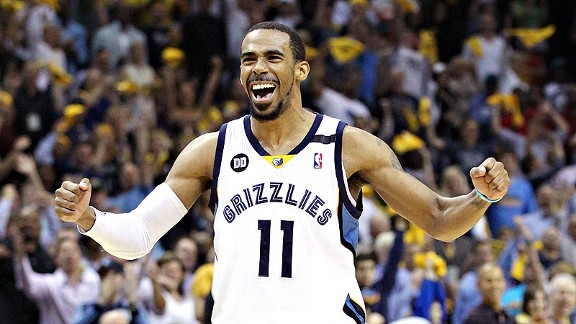 Shelburne: Mike Conley emerging for Grizzlies