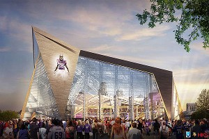New Vikings Stadium design