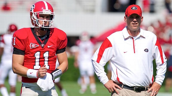 Aaron Murray, Mike Bobo