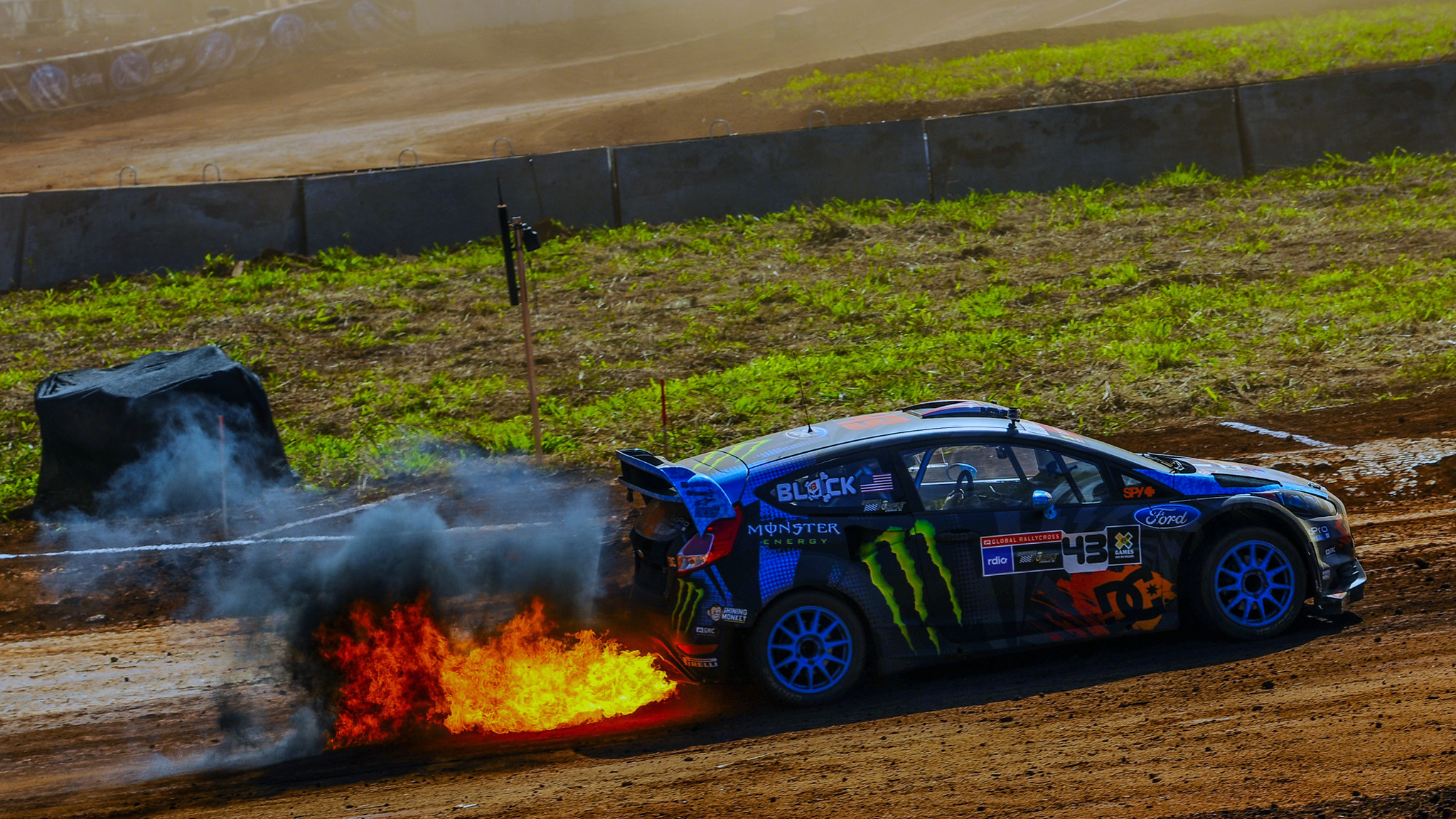 Hd wallpaper ken block - X Games Barcelona Rallycross Spotters Have Their