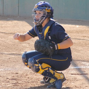 Cal catcher Lindsey Ziegenhirt had a killer freshman season followed by three years of ups and downs.