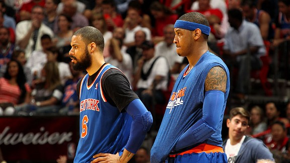Tyson Chandler, Carmelo Anthony
