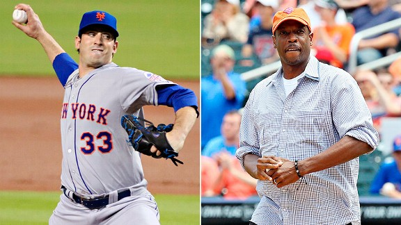 Matt Harvey and Dwight Gooden