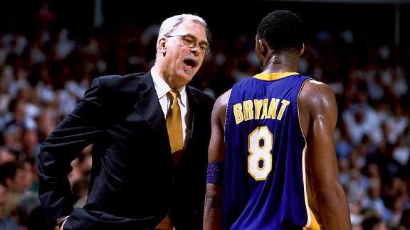 Phil Jackson, Kobe Bryant