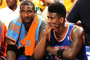 Amar'e Stoudemire and Iman Shumpert