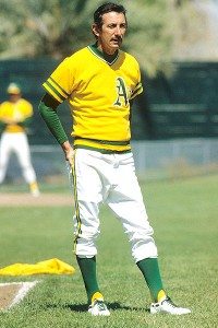 Billy Martin of the Oakland A's
