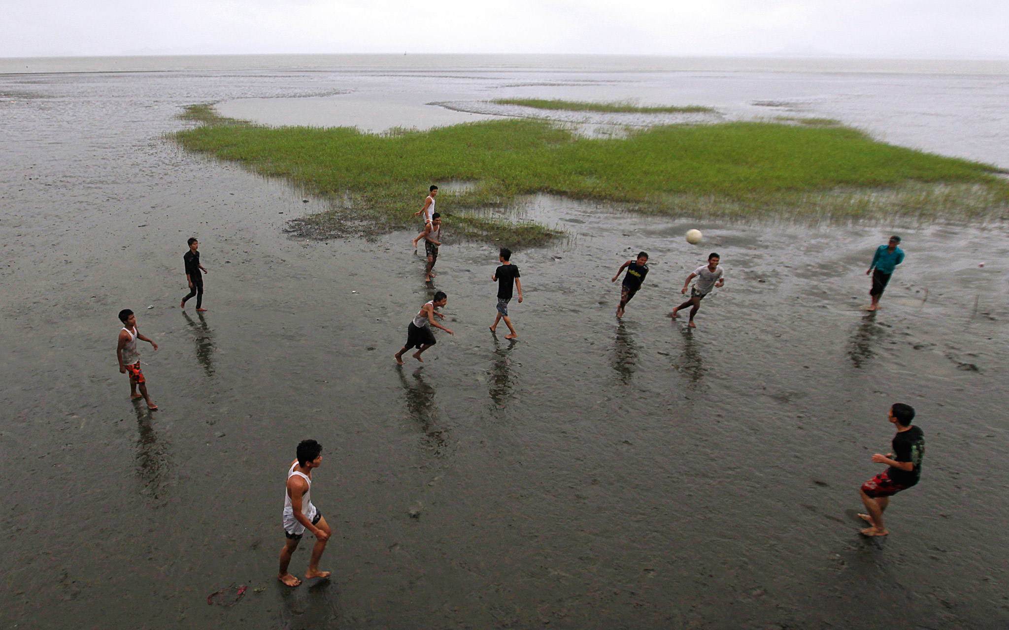Soccer in Sittwe