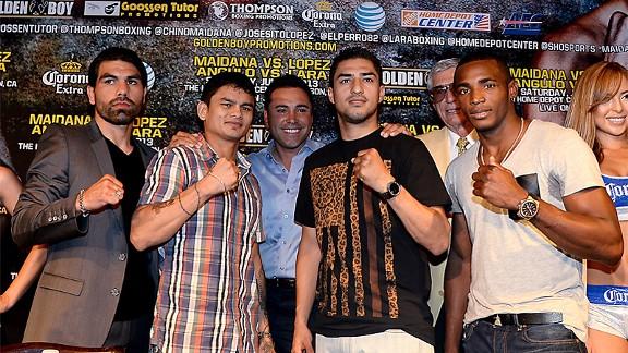 Marcos Maidana, Josesito Lopez, Erislandy Lara & Alfredo Angulo