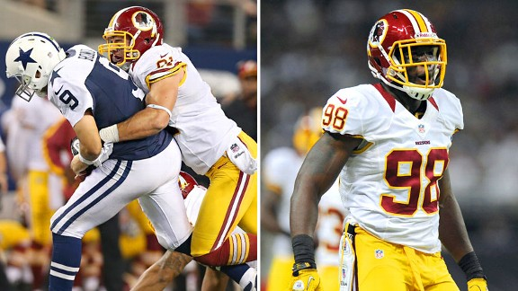 Ryan Kerrigan and Brian Orakpo