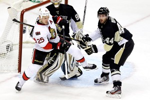 Brooks Orpik, Chris Neil