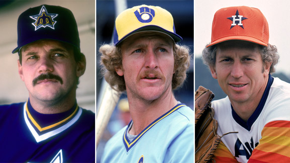 Richie Zisk, Robin Yount, Don Sutton