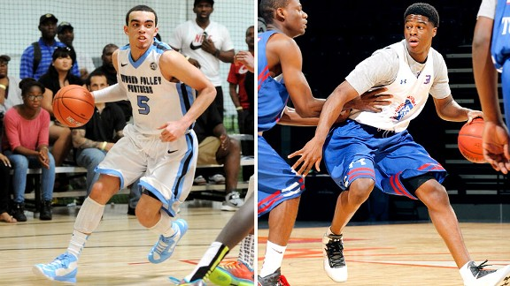 Tyus Jones, Emmanuel Mudiay