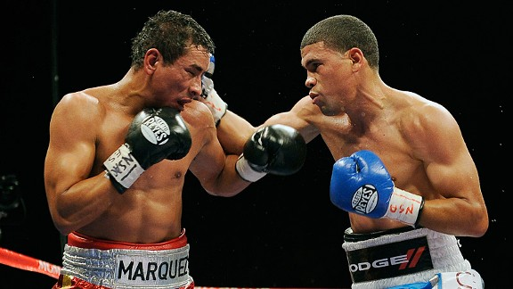 Juan Manuel Lopez and Rafael Marquez